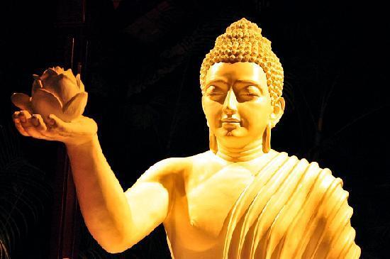 Buddha Gives